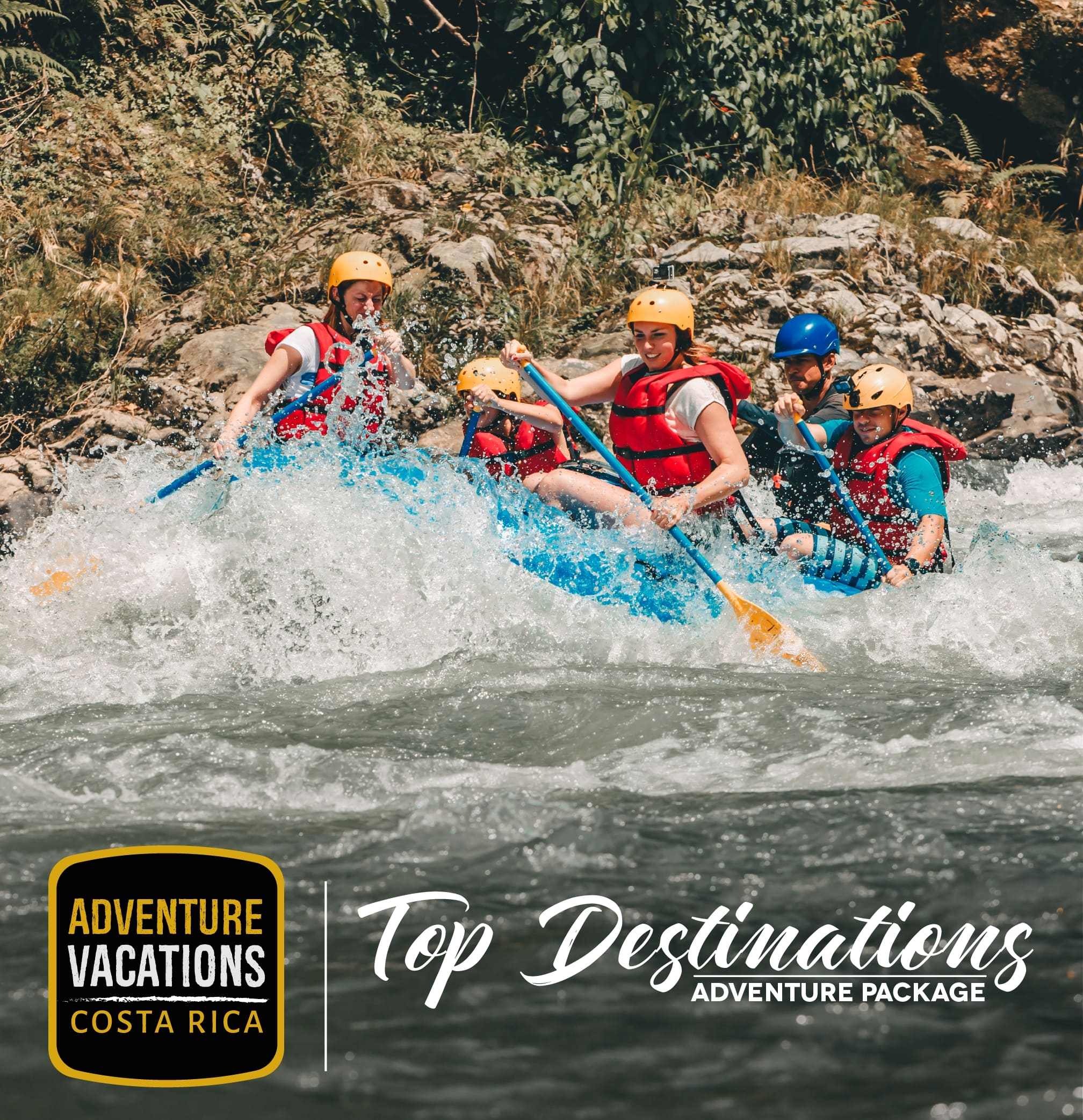 Top destinations Adventure